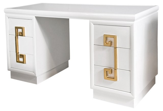 Kittinger   Greek Key-Design  Desk