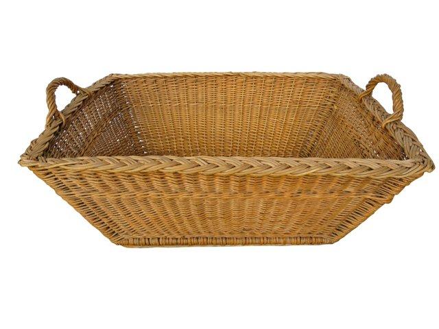 French Laundry Basket