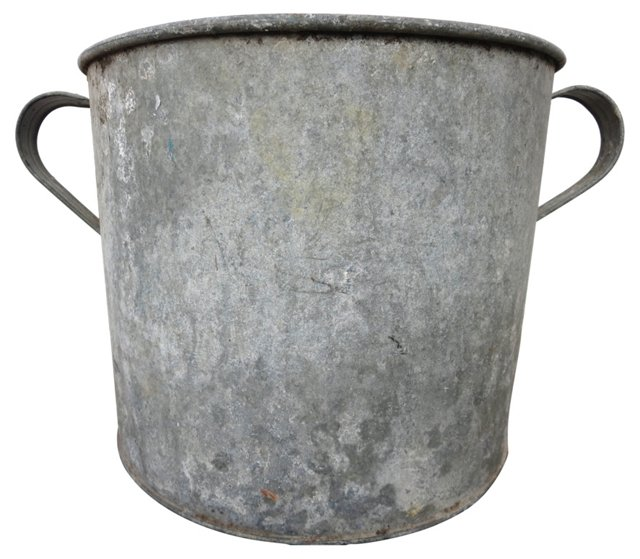 French Zinc Planter w/Handles