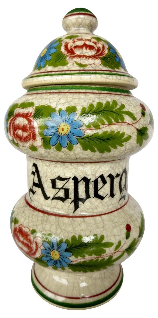 German Apothecary Jar