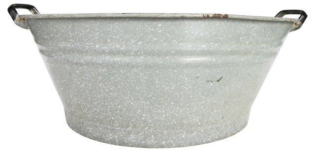 French Enamelware Tub