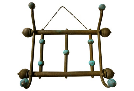 French Bronze Hat Rack