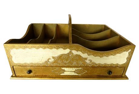 Italian Florentine Vanity Caddy