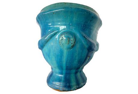 French Terracotta Vase d'Anduze
