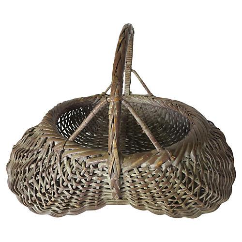 European Willow Basket