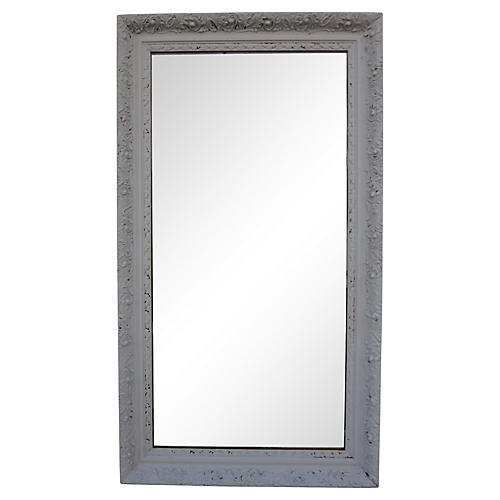 Large French Gray Mirror