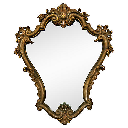 French Mirror, C. 1919