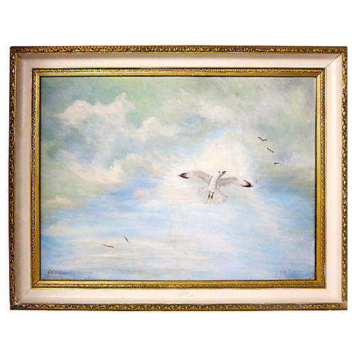 Birds in Flight by Irene Murphy