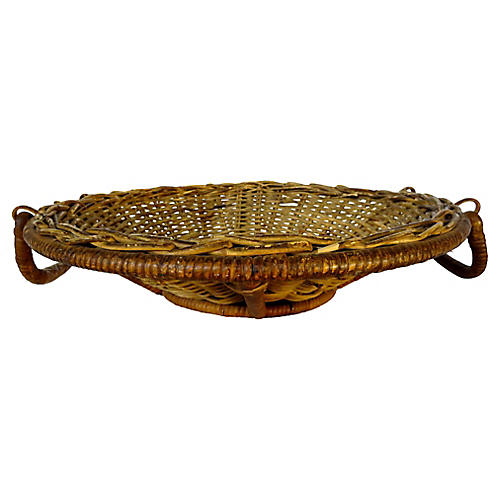 French Handled Fruit Basket