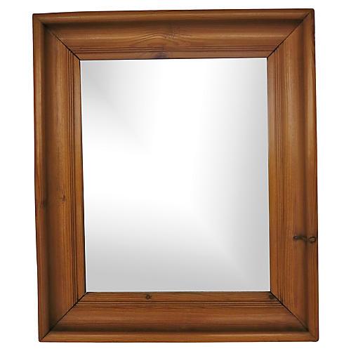 English Pine Mirror