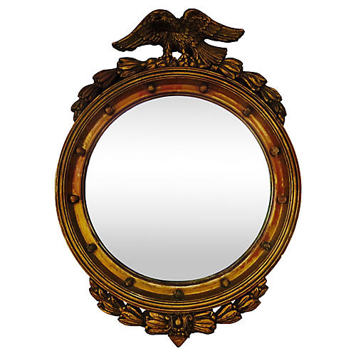 19th-C. Gilded Federal Mirror