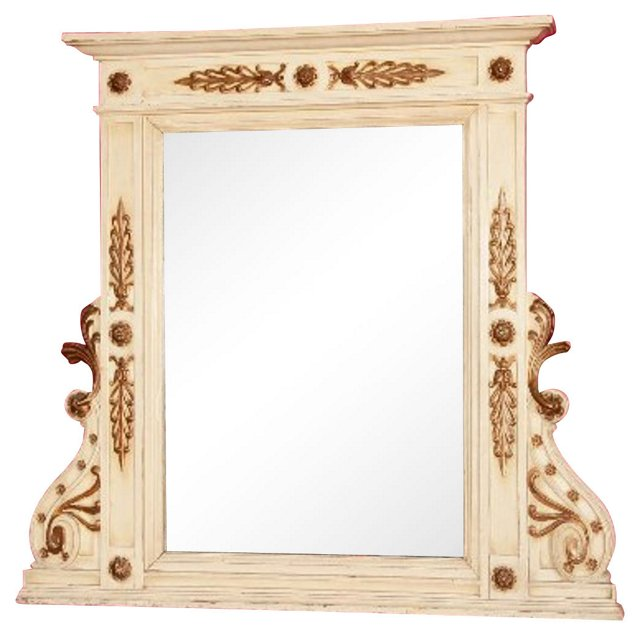 1880s Italian Carved Mirror