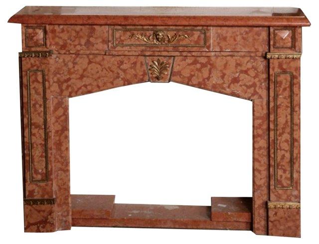 Italian Marble Fireplace Mantel