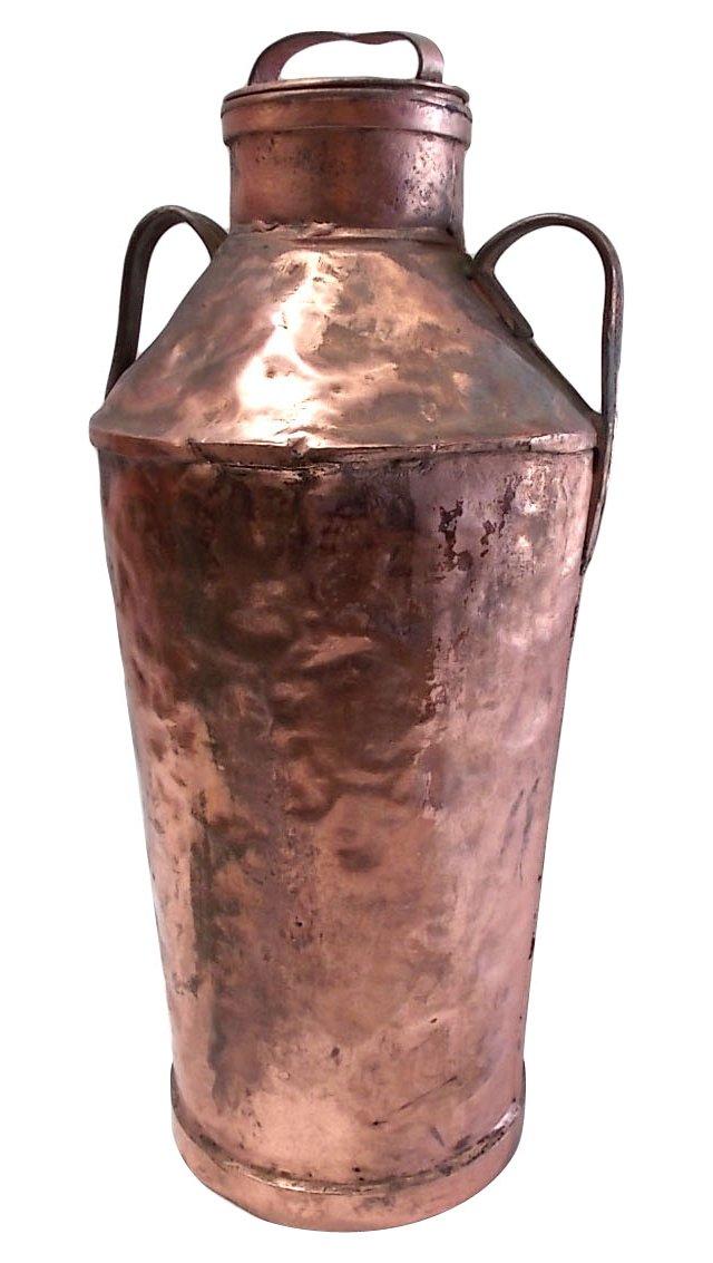 Copper Milk Pail