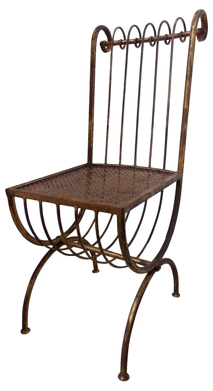 Midcentury Iron Chair