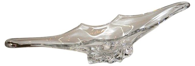 French Vannes Crystal Centerpiece