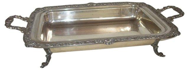 Silverplate Serving  Dish
