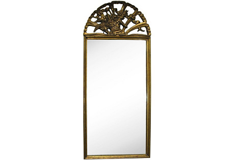 French Giltwood Mirror, C. 1900
