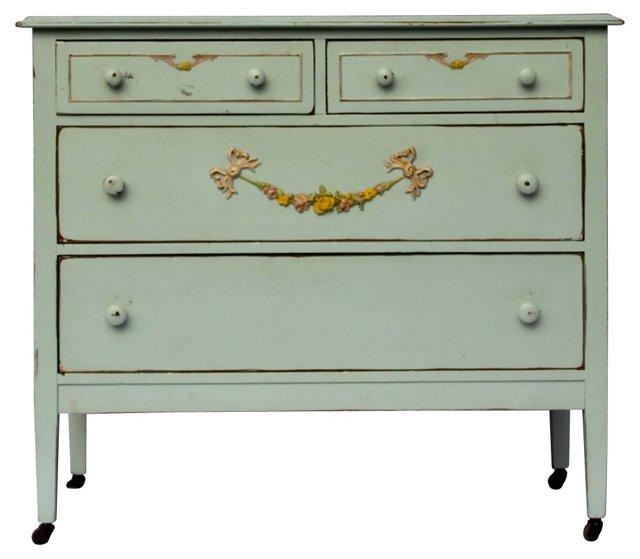Shabby Chic Handpainted Dresser