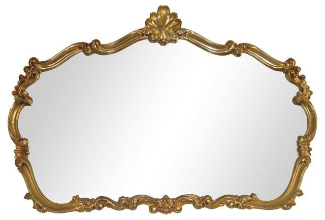 Gold Mantel Mirror