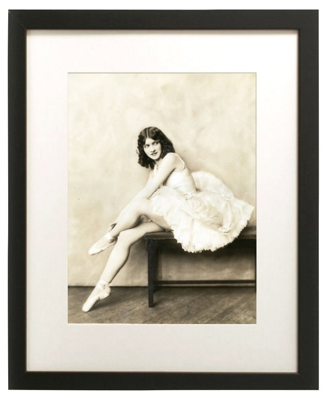 Photograph of Dancer by A. C. Johnston