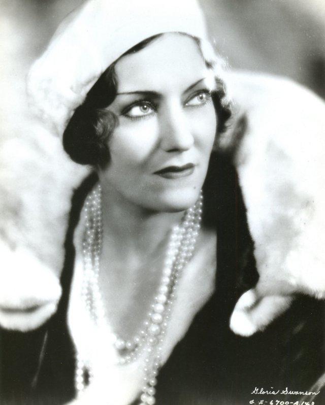 Portrait of Gloria Swanson
