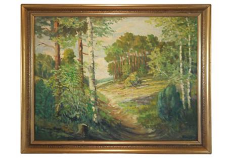 Grass Valley Landscape, C.1950
