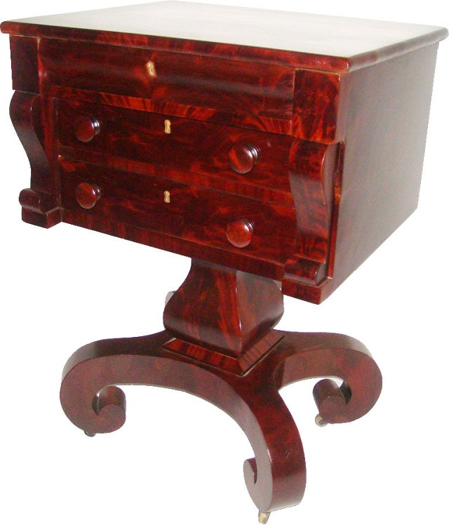 American Empire Side Table