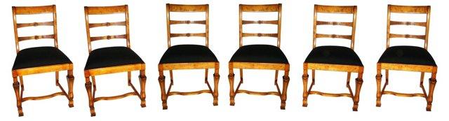 Swedish Dining Chairs, Set of 6