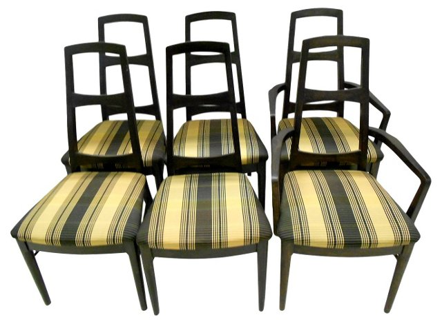 Midcentury  Dining Chairs, S/6