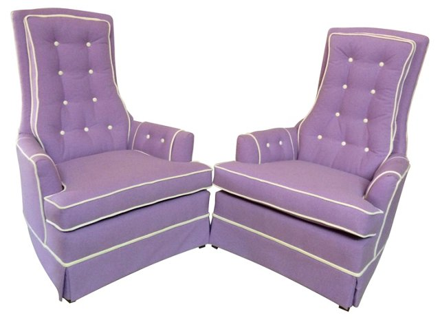 Armchairs   by Broyhill, Pair