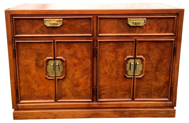 Burled Wood Buffet by  Thomasville