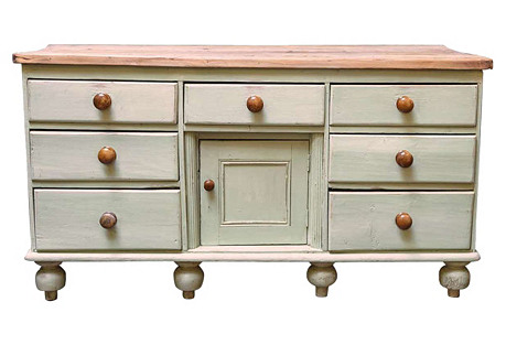 English Country Painted   Server