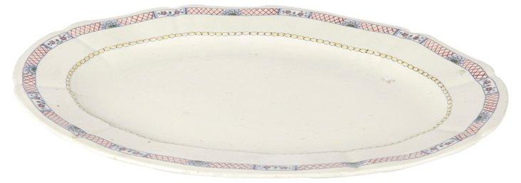 Gien Oval Platter