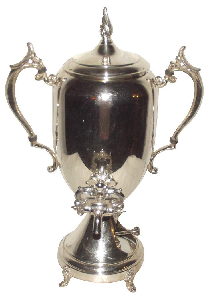 Victorian Coffee Pot w/ Burner