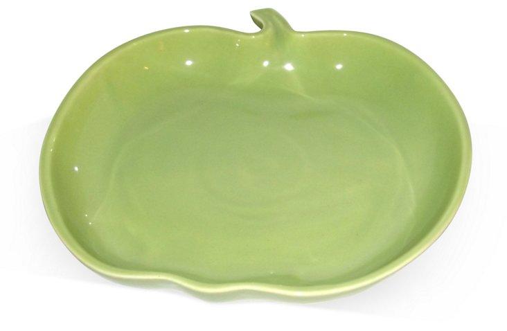 1960s Green Apple Bowl