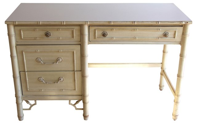 Thomasville   Faux-Bamboo Desk
