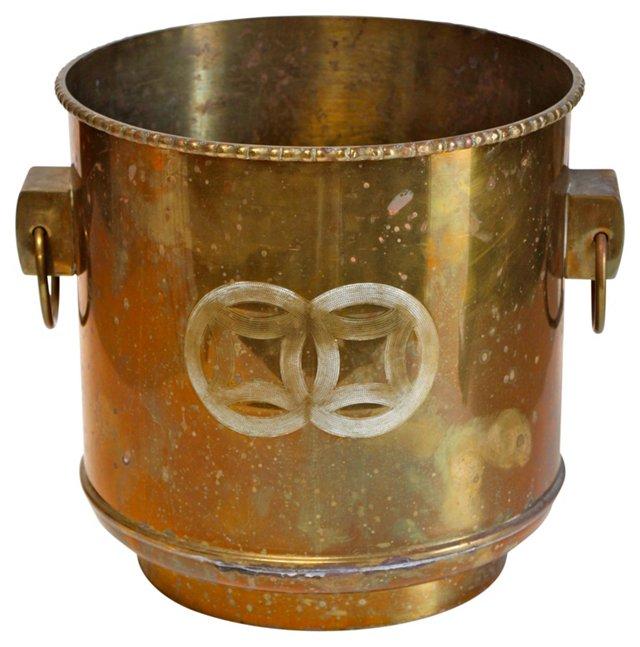 Brass Cachepot Planter