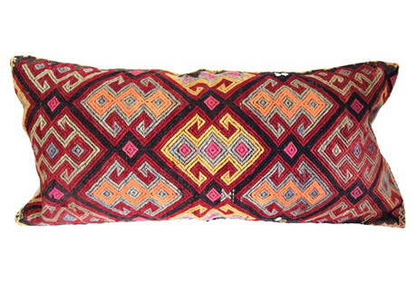 Oversize Turkish Kilim   Cushion
