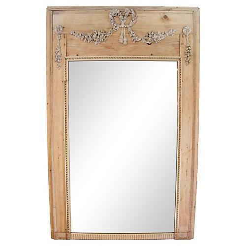 Louis XVI-Style Trumeau Mirror
