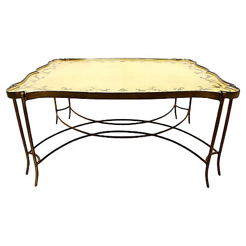 Painted Tray Top Coffee Table