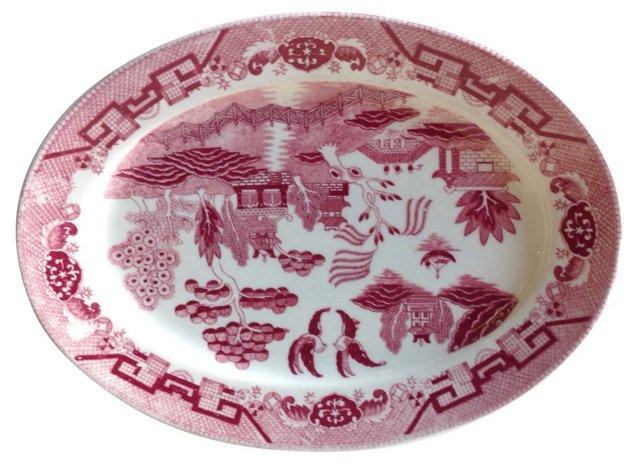 Willow Pattern Platter