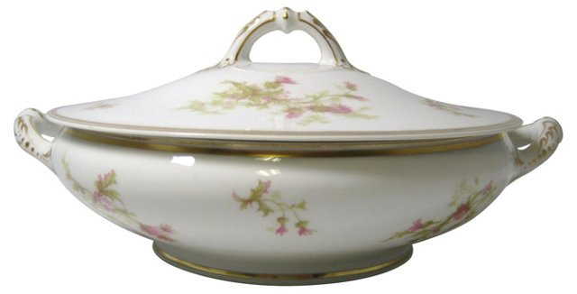 French Thistle Covered Tureen