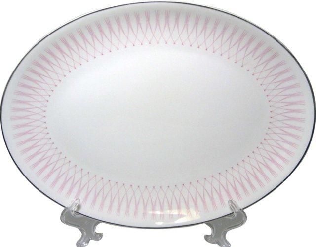 Doulton Pink Radiance Platter