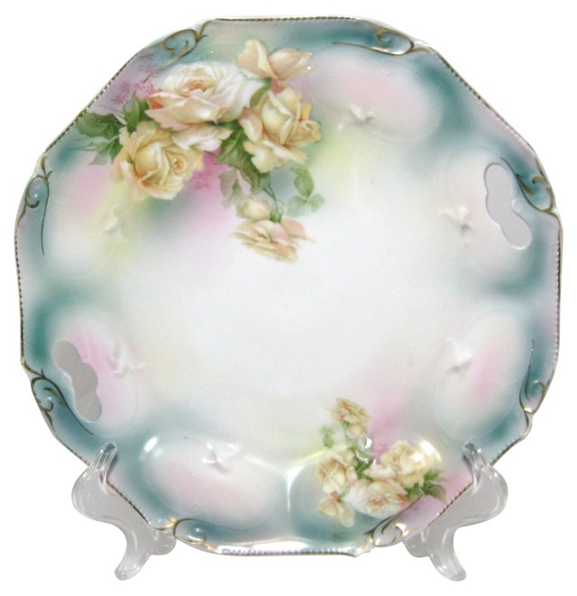 Royal Bayreuth Serving Plate w/ Roses