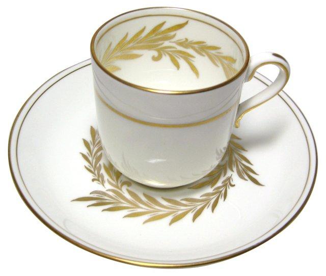 Minton Malta Demitasse Cup & Saucer