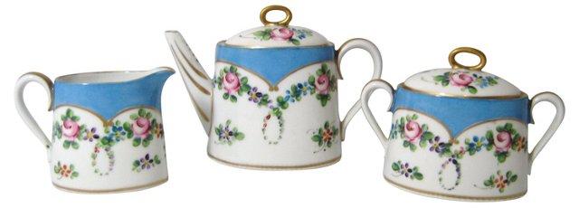 Petite French Tea Set, 3 Pcs