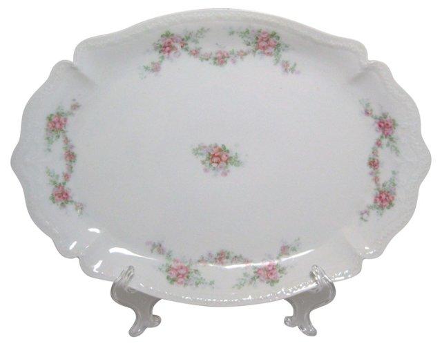 Scalloped Edge Bavarian Platter