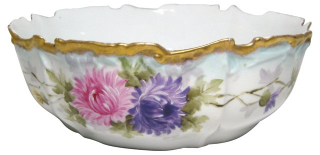 French Chrysanthemum Center Bowl