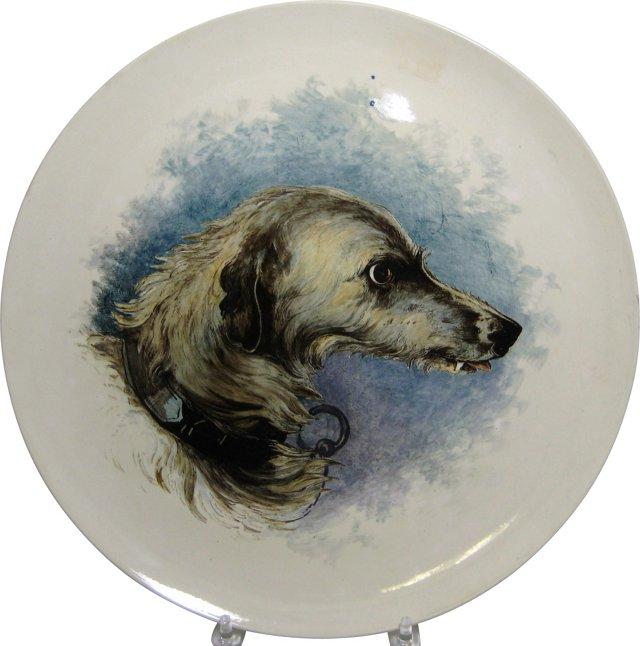 Wedgwood Irish Wolfhound Charger